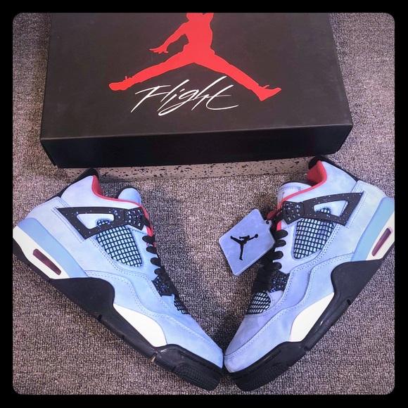 4e95a74039 Nike air Jordan retro 4 IV Cactus jack Travis